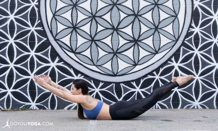 Key Tips & Steps to Get Your Locust Pose Flying to New Heights