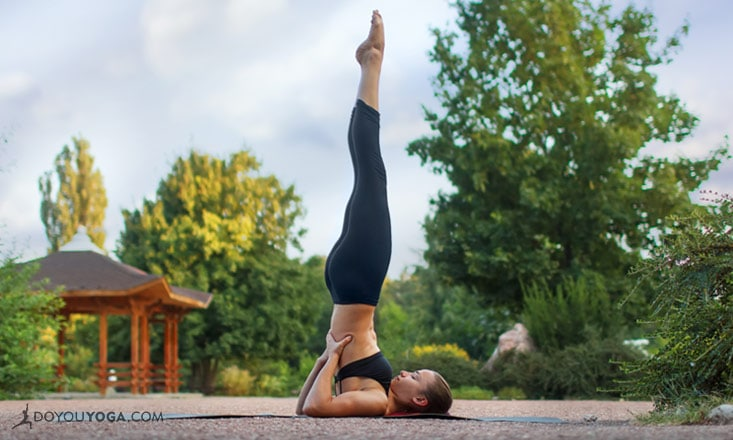 Common Misalignments in Supported Shoulderstand Pose (and How to Fix Them)