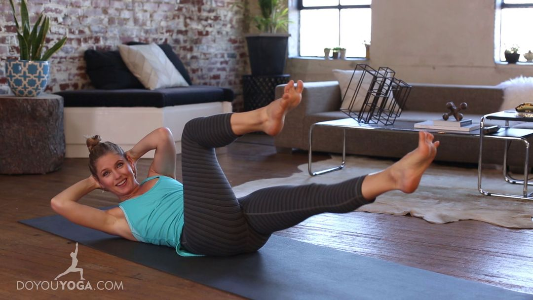 Secondary Core Yoga Sequence