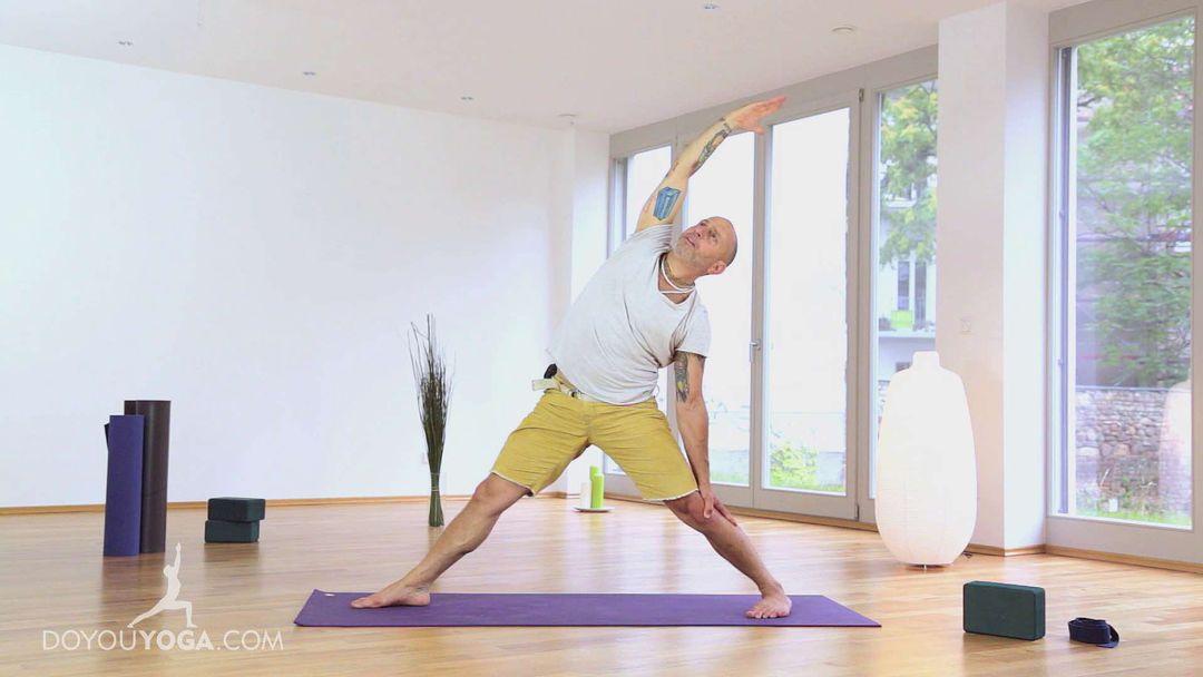 Learning Yoga Back Bends