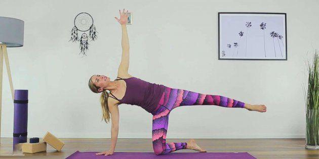 Side Body Yoga Stretch