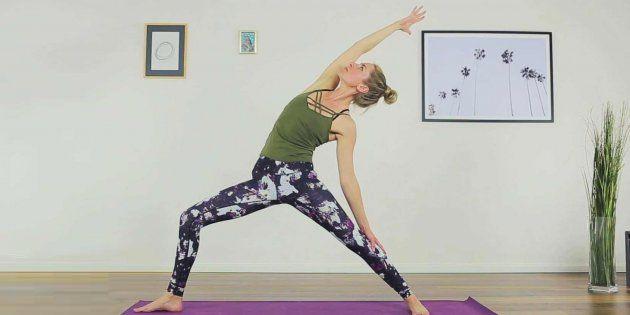 Energizing Yoga Flow