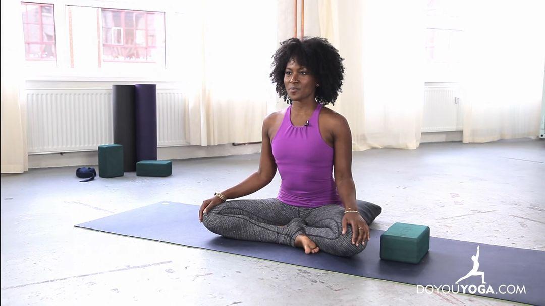 Meditation and Restorative Yoga for Chest & Shoulders