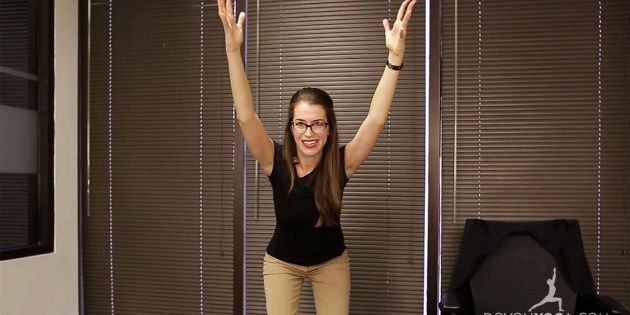 Office Yoga for Self-Control