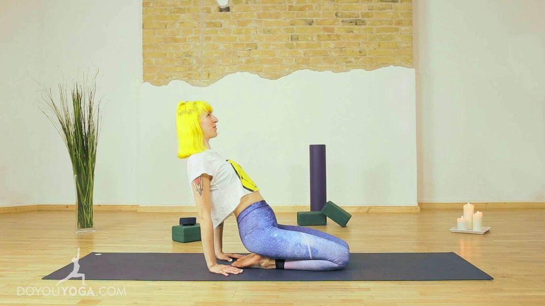 Restoring Balance: Half Asana / Half Meditation