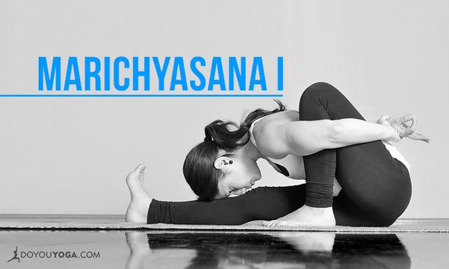 How to do Marichyasana I – Marichi's Pose I