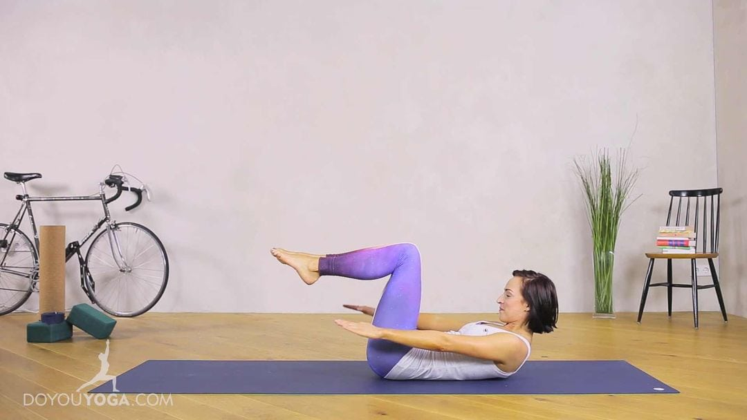 Centering, Abdominals & Spinal Movement