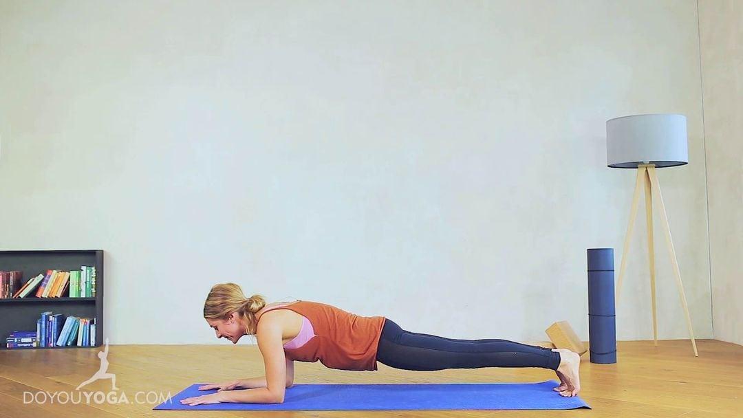 Forearm Plank Pose / Phalankasana Forearm Variation