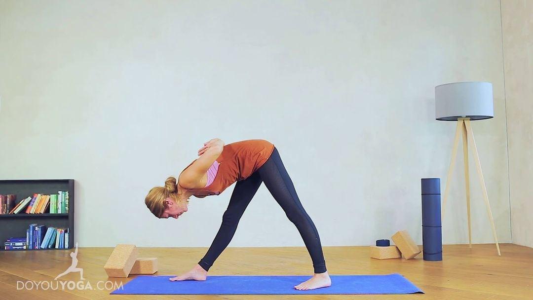Pyramid Pose / Intense Side-Stretch Pose / Parsvottansana