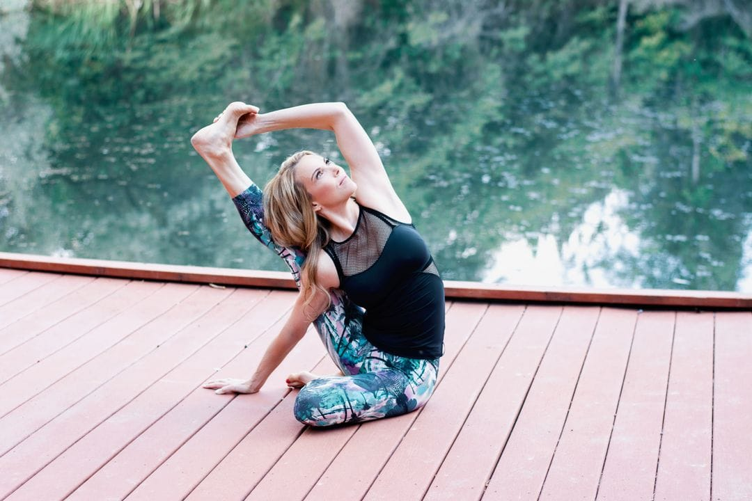 Learning Seated Yoga Poses