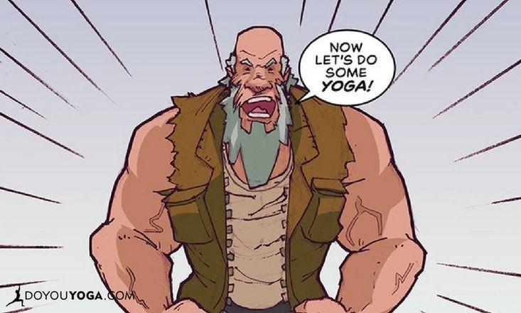 Meet Yoga Joe, The Ex-Marine Comic Book Yogi Superhero