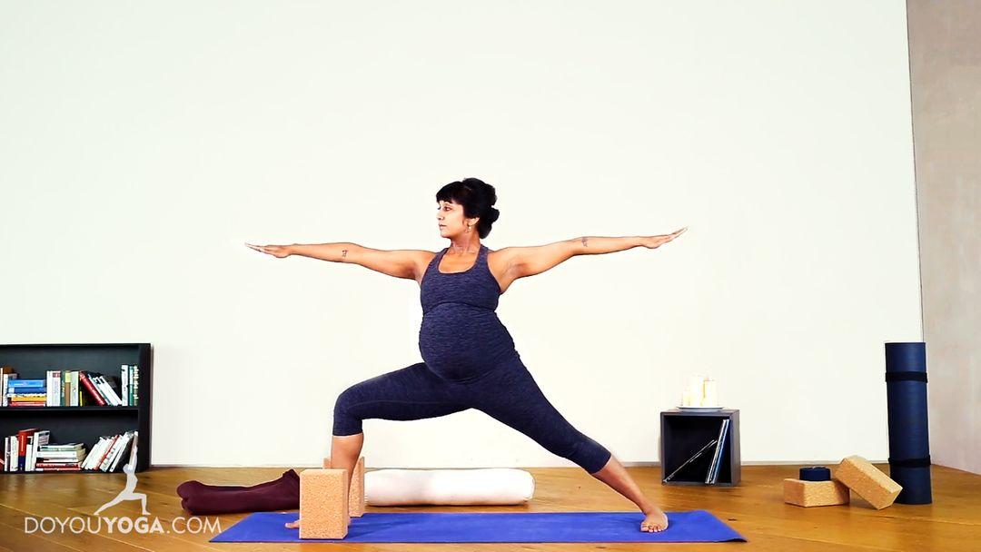 Prenatal Yoga for Lower Back & Hip Stiffness