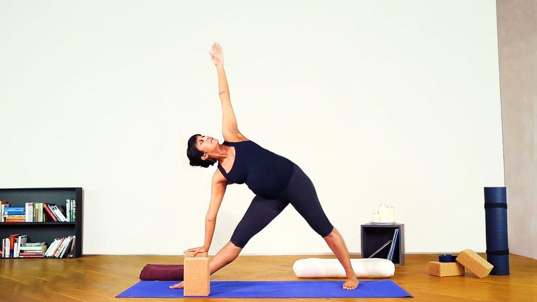 Prenatal Yoga for Stress & Anxiety