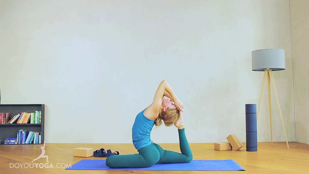 Beautify Your Practice With One-Legged King Pigeon Pose