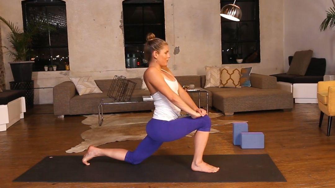 Hip Opening Power Yoga Flow