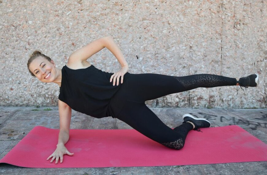Tone Up and Trim Down With Sweaty, Fat-Burning Pilates Workout
