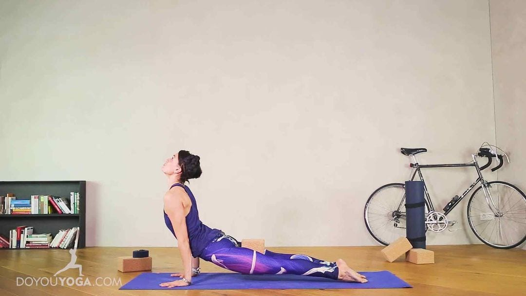 Using the Lower Back Right in Yoga